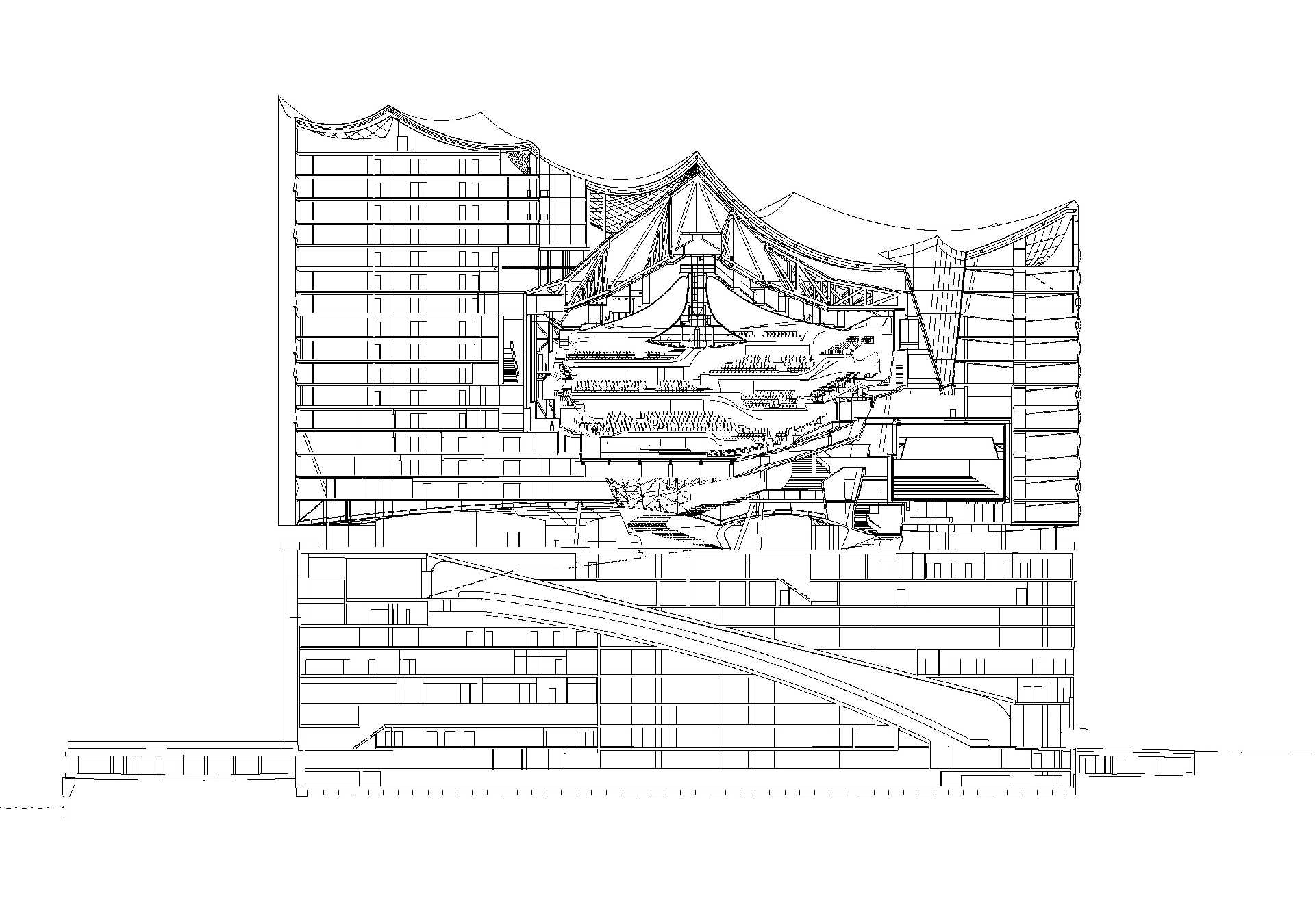 Elbphilharmonie Architecture Magaceen By Cosentino